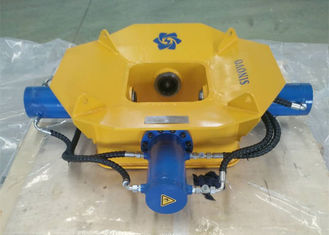 Chiny Yellow Hydraulic Pile Cutter, Concrete Pile Breaker 470kN Maximum Drill Rod Pressure dostawca
