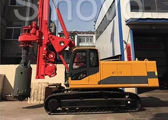 Chiny TR100 Rotary Hydraulic Drilling Rig 100 KN.M Self-Erecting Rig Electronic Control fabryka